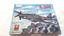 VINTAGE 1/72 SCALE MODEL PLANE AIRCRAFT ZIS KONKURS IT-2M3 RUSSIA FIGHTER BOMBER