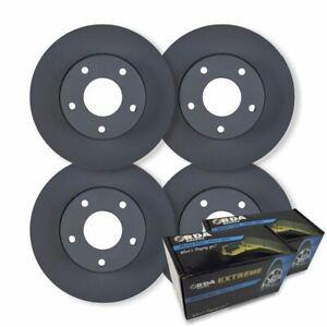 FULL SET DISC BRAKE ROTORS + PADS for Ford Explorer 4.0L & 4.6L V8 5/2001-2005
