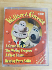 Wallace & Gromit Audio Book Cassette: Grand Day Out, Wrong Tousers, Close Shave
