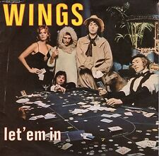 disco 45 GIRI WINGS LET'EM IN - BEWARE MY LOVE