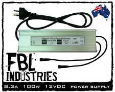 FBL LD-8 100w 12v DC LED strip power supply 240v outdoor camping off road lights