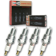 4 pc Champion 9007 Iridium Spark Plugs RN10WYPB5 - Pre Gapped Ignition de