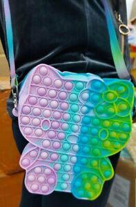 Hello Kitty Slide Shoulder Bag Push it Bubble Pop Fidget Sensory Toy ADHD Stress
