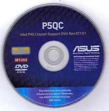ASUS P5QC Motherboard Drivers Installation Disk M1352
