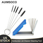 18 in 1 Engine Carburetor Carbon Dirt Removal Cleaning Tools Kit For Motorcycle