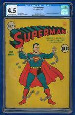 1941 Superman #11 4.5 CGC D.C. Comics Golden Age