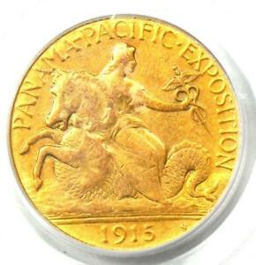 1915-S Panama Pacific Gold Quarter Eagle $2.50 Coin - PCGS Certified - XF / AU