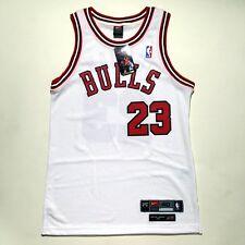100% Authentic Michael Jordan Rookie Bulls Nike 8403 Home Jersey Size 40 M