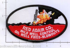 Texas - Houston Red Adair Company TX Fire Dept Patch Oil Well Fires