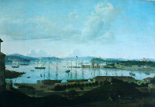 Jacob Janssen, Sydney Cove  1842, Sailing Ships in Sydney Harbour.