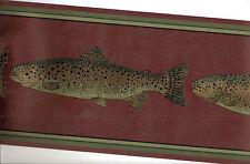 FISH WALLPAPER BORDER  HU6254B