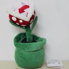 Cute Super Mario Bros Piranha Plant 19cm Soft Plush Doll Toy Kids Xmas Gifts