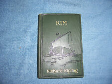 KIM by Rudyard Kipling /1st Edition/HC/Literature/Fiction/Adventure