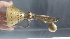 Antique Gimbal Brass Ships Candle Holder Maritime Nautical Marine Boat (1)