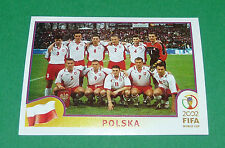 N°259 EQUIPE TEAM POLSKA PANINI FOOTBALL JAPAN KOREA 2002 COUPE MONDE FIFA