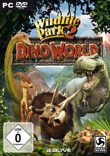 Wildlife Park 2 Dino World (PC) MERCE NUOVA IN CUSTODIA DVD SIGILLATO E NUOVO