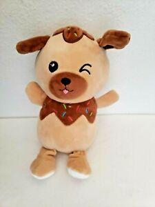 Walmart So Sweet Scented Puppy Dog Plush Stuffed Animal Chocolate Donut