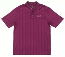 Nike FITDRY Tiger Woods Men's L Cotton Blend Purple Chenal Country Club