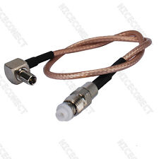 FME Jack to TS9 Pigtail cable for USB 598 Modem Sprint 598U & Verizon Wireless
