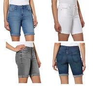 NWT Calvin Klein Jeans Ladies' Denim Bermuda Short ** SELECT COLORS & SIZES **