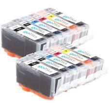 12 Ink Cartridges for Canon Pixma MG6150 MG6220 MG6250 MG8150 MG8250 MG8220