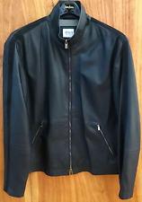 Armani Leather Jacket Men's 42