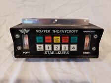 VOSPER THORNYCROFT HYDRAULIC POWER STABILIZER CONTROL PANEL P0023405-A