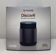 Pure DiscovR Bluetooth Wireless Portable Smart Speaker with Alexa