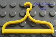 "NEW Lego 1.5"" YELLOW CLOTHES HANGER - Scala Belville Figure Minifigure Utensil"