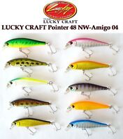 Lucky Craft Pointer 48 Sp Leurre de Pêche Japon Ferme Amorce, Truite, Chub ,