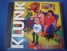 CD / KLUNK / ADOPTED ? / DIALEKTIK RECORDS 1998 french hardcore punk rock NM