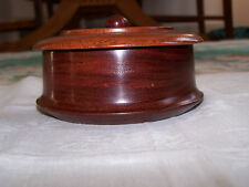 Estate Exotic Rare Jatoba (Guapinol Hymenaea Courbaril) Wood Box