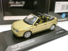 MINICHAMPS 1/43 - VW GOLF CABRIO - 430 058334