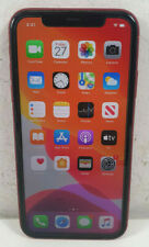 Apple Iphone 11 A2221 MWLV2X/A 64GB Red Unlocked Smartphone - Bids From $1.00
