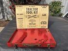Vintage SIDDONS SIDCHROME AUSTRALIA TRACTOR TOOL KIT Tool Box -BOX ONLY-Ferguson