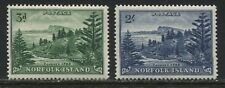Norfolk Island 1959 3d and 2/ mint o.g.