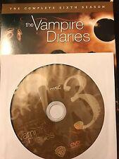 The Vampire Diaries - Season 6, Disc 3 REPLACEMENT DISC (not full season)
