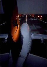 Flugzeuge color Postkarte ungelaufen Airline Lufthansa beim Start Airplane LH