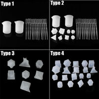 Silicone Dice DIY 3D Mold Resin Jewellery Making Mould Casting Epoxy Craft