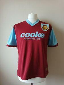 Burnley FC Home Football Shirt 2009-2010 Errea Adult Size Medium M