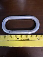 Collectable Steel Snap Link, Mountain Piton 8465-360-0228 Carabiner Vietnam Era