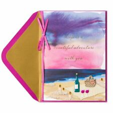 Papyrus Greetings Valentine's Day Card Life Is A Beautiful Adventure ~ Romantic