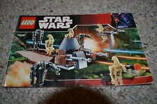 LEGO Star Wars Droids Battle Pack (7654) -100% complete with inst and minifigs