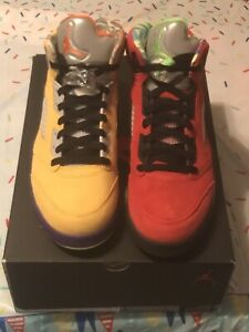 DS Jordan 5 What The Size 8.5 with Receipt