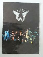 Paul McCartney WINGS RARE 1976 UK Tour Program  BEATLES