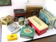 Konvolut große alte rare Blechdosen Meßmer Tee Teekanne Haribo Onko