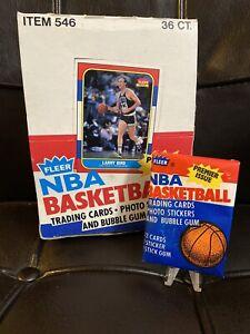 1986 Fleer NBA Basketball Wax Pack Isiah Thomas Sticker, Isiah Thomas Front