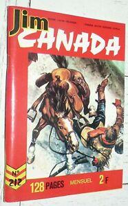 PETIT FORMAT IMPERIA JIM CANADA N°212 1976 SERGENT POLICE MONTEE TUNIQUES ROUGES