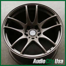18X9.5 +22// 18X10.5 +22  VORDOVEN FORME 9 5X114 BRONZE  fit  MUSTANG