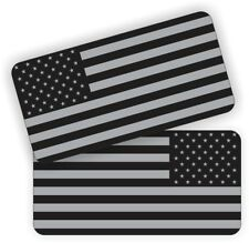 American Flags Black Ops Hard Hat Stickers  Welding Helmet Decals Welder (PAIR)